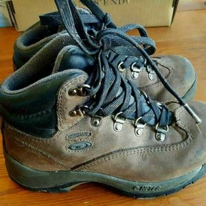 Hi-Tec Boys Waterproof Leather Hiking Boots Size 1